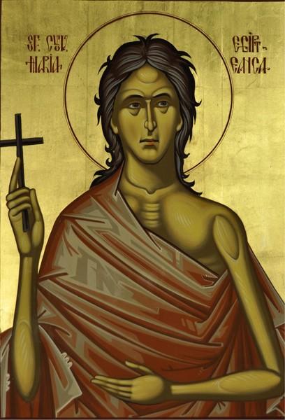 Sfanta Maria Egipteanca - din adancul caderii spre varful sfinteniei