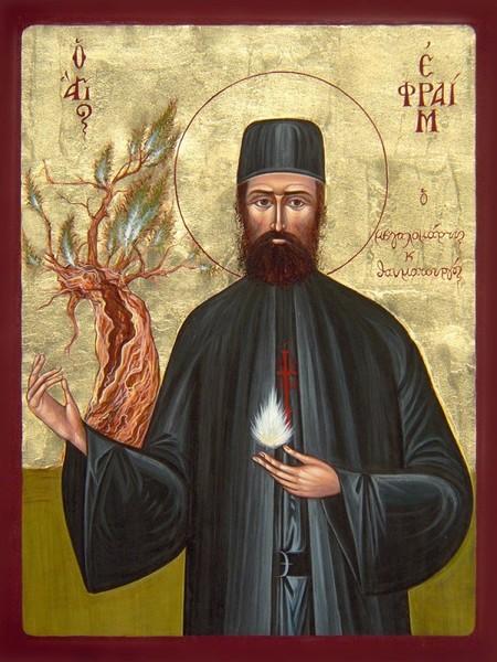 Sfantul Efrem cel Nou, prietenul cel mai aproape de sufletele noastre