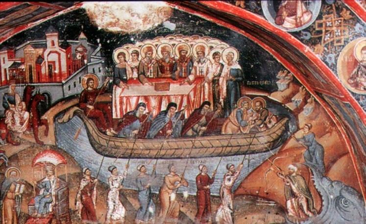 Biserica, corabia mantuitoare in furtunile veacului