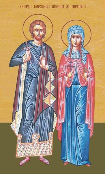 Sfintii Adrian si Natalia