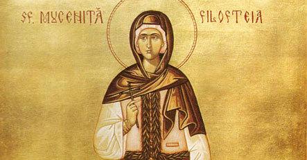 Sfanta Filofteia, una din cele mai tinere sfinte din calendarul ortodox