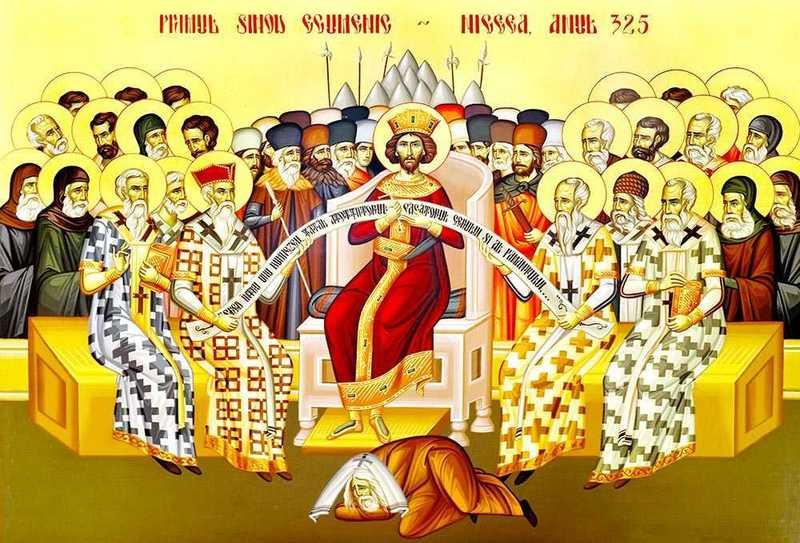 Duminica inchinata Sfintilor Parinti de la Sinodul I Ecumenic, a VII a dupa Pasti