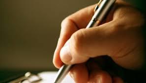 Amanarea scrisului