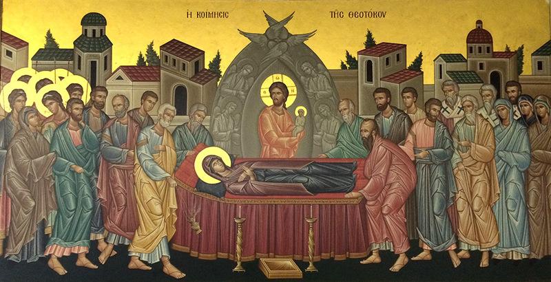 Adormirea Maicii Domnului - temeiul si garantia invierii noastre