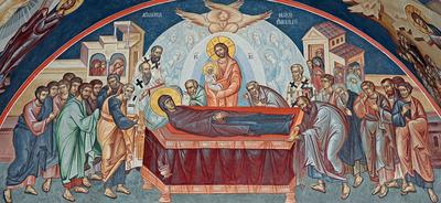 Moartea facatoare de viata a Maicii Domnului