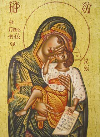 Maica Domnului - rodul rugaciunii Sfintilor Ioachim si Ana