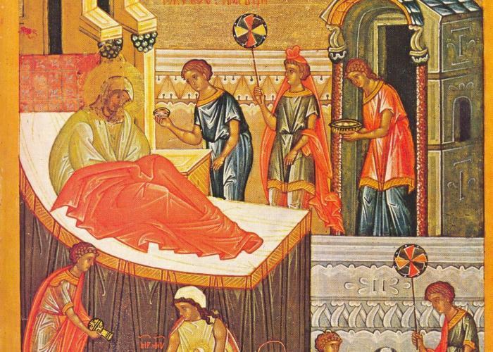 Cum s-a nascut Fecioara Maria