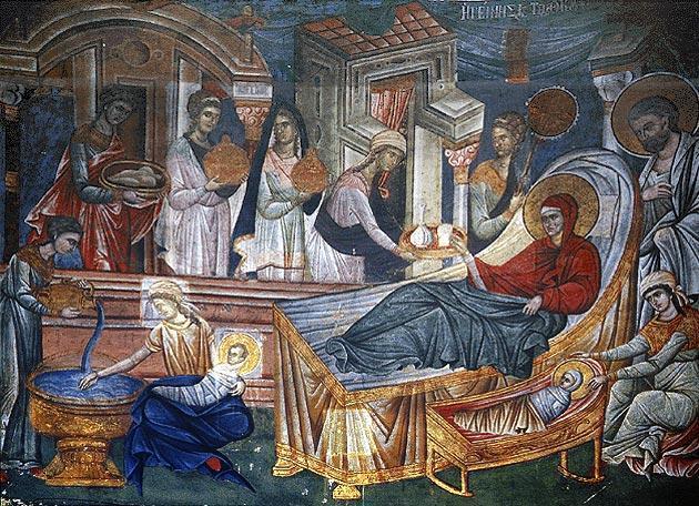 Nasterea Maicii Domnului - prima sarbatoare a innoirii noastre in har