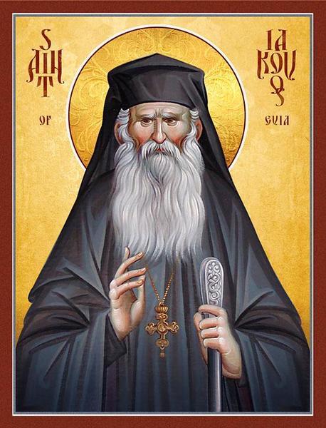 Ultima zi din viata Sfantului Iacov din Evia