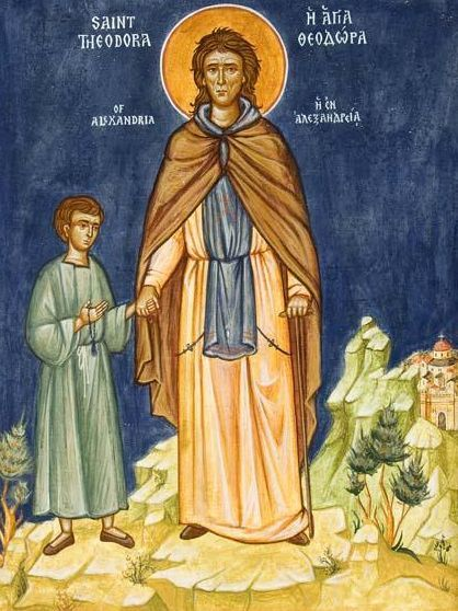 Sfanta Cuvioasa Teodora din Alexandria