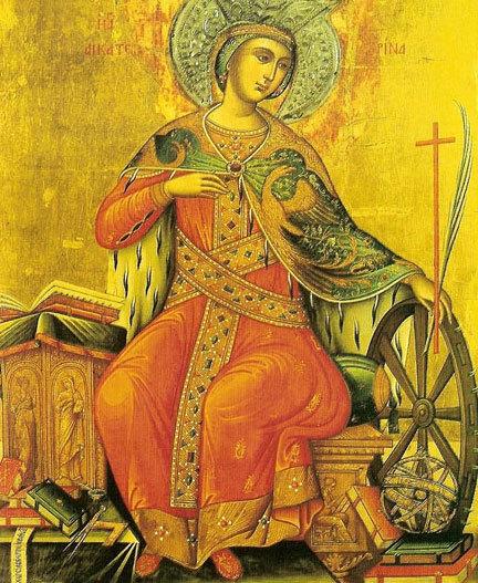 Viata Sfintei Mari Mucenite Ecaterina