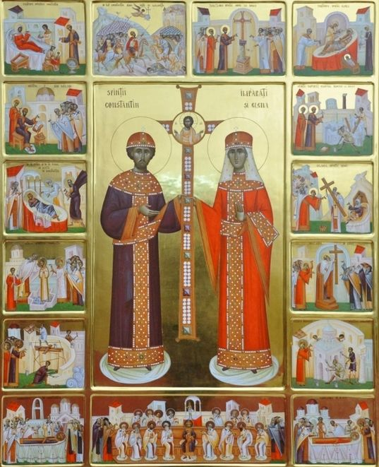 Sarbatoarea Sfintilor Imparati Constantin si Elena