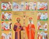 Constantin cel Mare si mama sa, Elena - Sfinti...