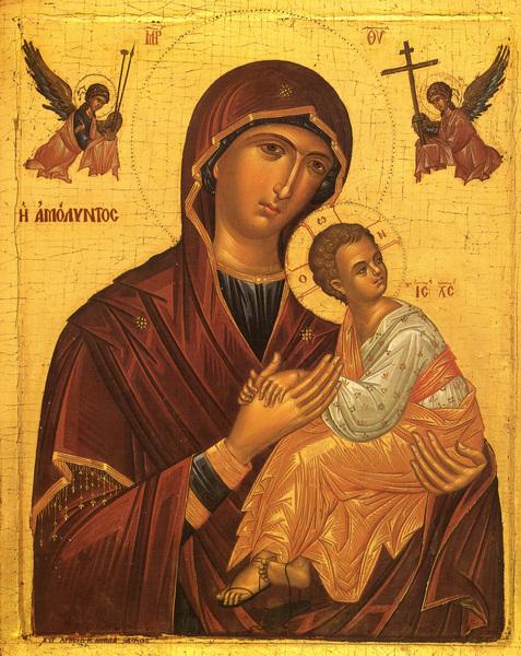 Maica Domnului - Stapana cerului si a pamantului