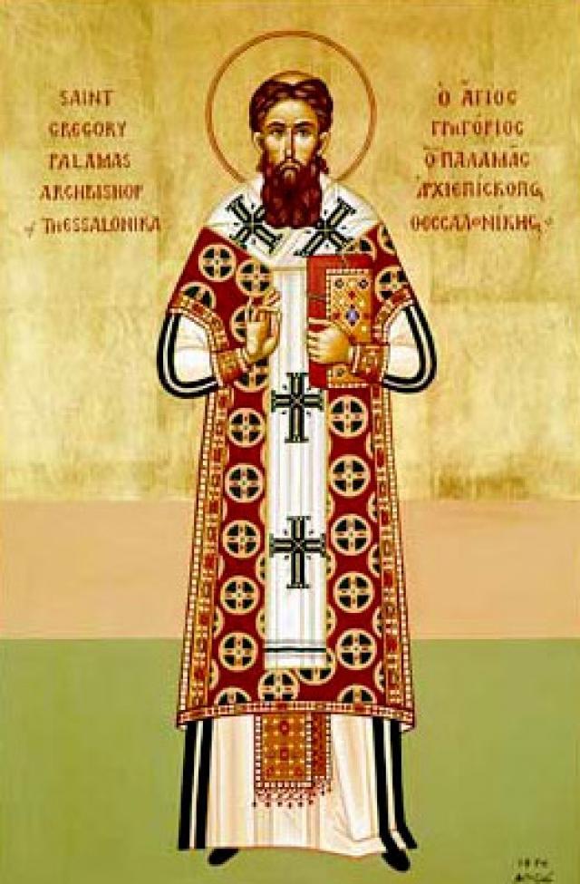 Sfantul Grigorie Palama este cinstit de doua ori pe an