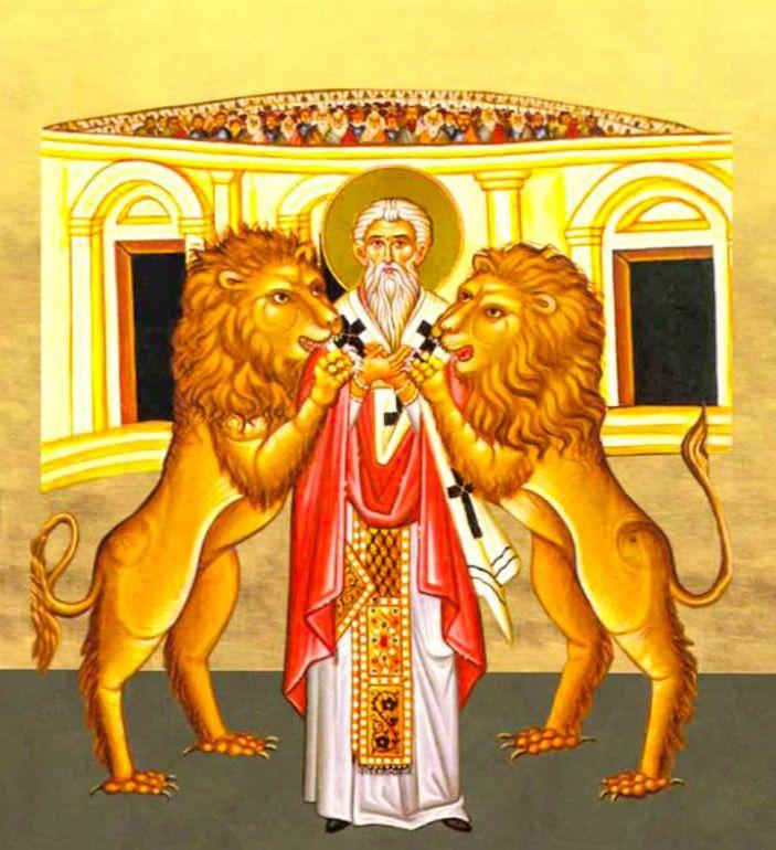 Sfantul Mucenic Ignatie