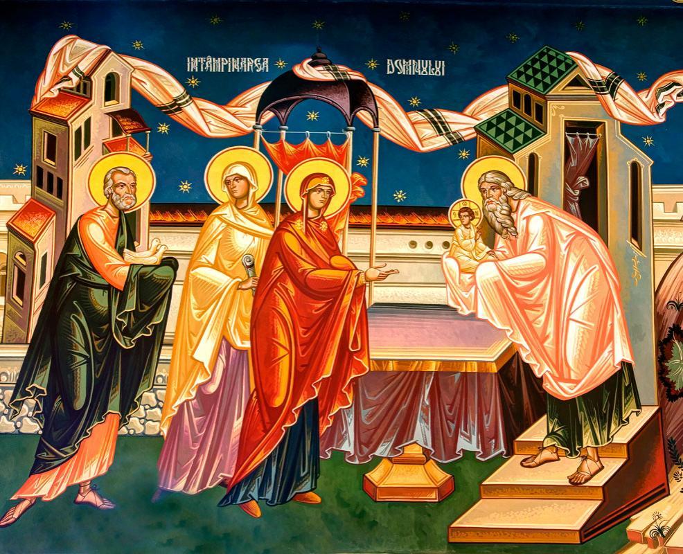 Intampinarea Domnului Iisus Hristos