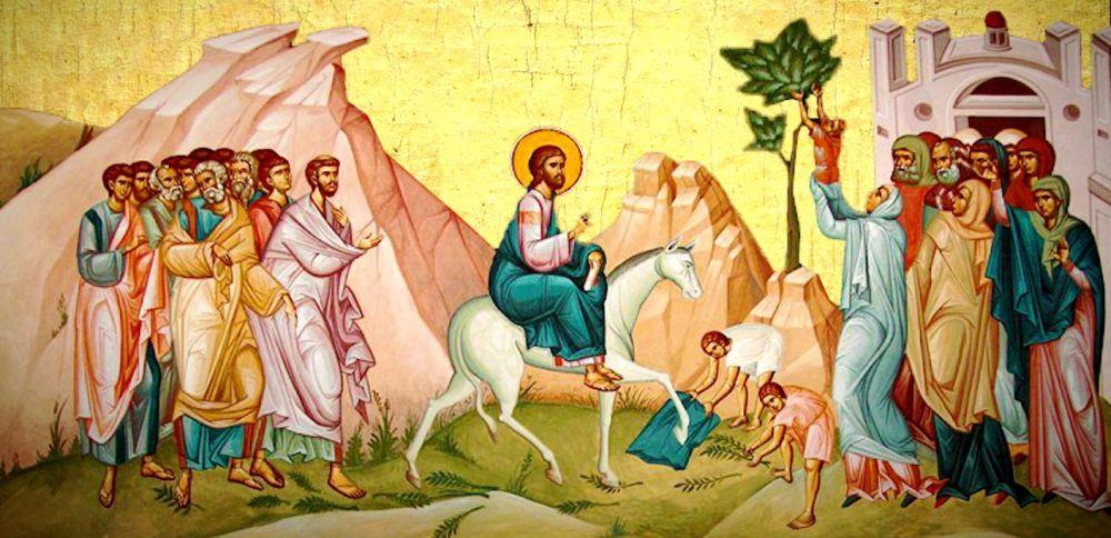 Praznicul Intrarii Domnului in Ierusalim