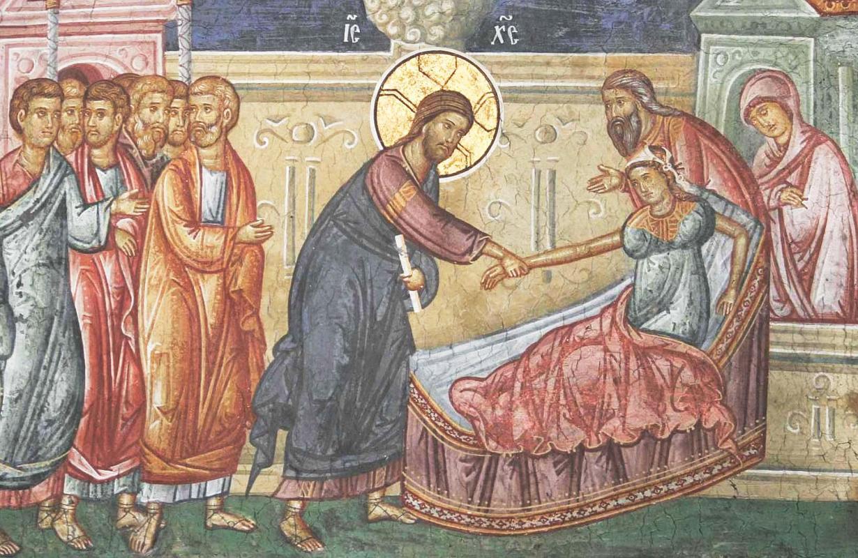 Vindecarea femeii bolnave si invierea fiicei lui Iair
