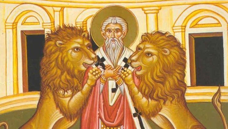 Sfantul Ignatie Teoforul este praznuit pe 20 decembrie