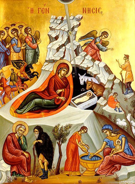 Hristos Se naste cu trup