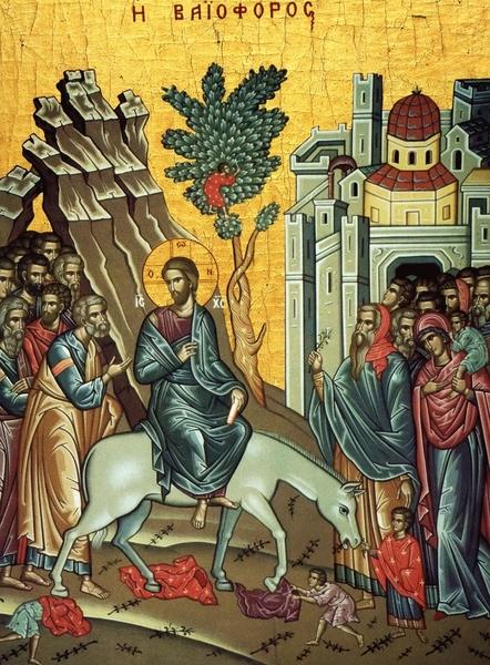 Predica la Duminica Intrarii Domnului in Ierusalim