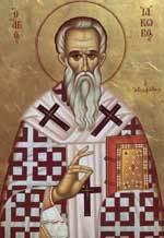 Sfantul Apostol Iacob, ruda Domnului; Sfantul Ignatie, Patriarhul Constantinopolului