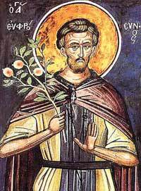 Sfanta Cuvioasa Teodora din Alexandria; Sfantul Cuvios Eufrosin Bucatarul