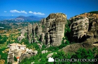 Manastirea Roussanou(Meteorele)