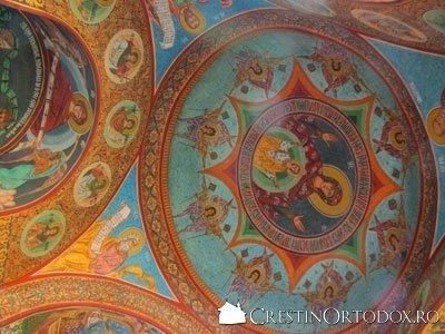Manastirea Radu Voda - Fresca