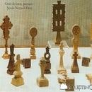 Cruci de lemn, pecetare - Scoala normala din Deva