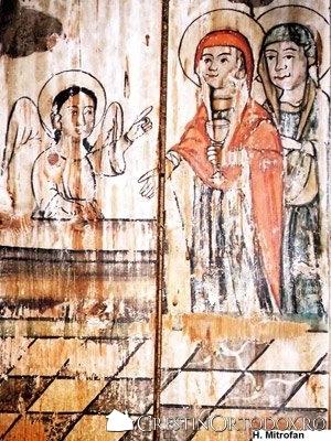 Biserica de lemn din Baita - Femeile mironosite
