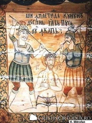 Biserica de lemn din Baita - Incununarea lui Hristos cu spini