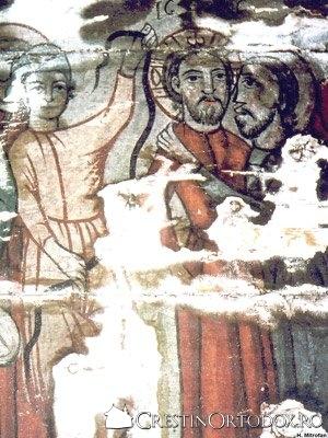 Biserica de lemn din Borza - Sarutarea lui Iuda