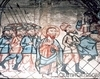 Biserica de lemn din Libotin - Iisus in fata lui Irod