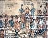 Biserica de lemn din Libotin - Incununarea lui Iisus cu spini si Biciuirea la stalp