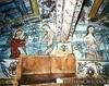 Biserica de lemn din Rogoz - Adam si Eva pe pamant