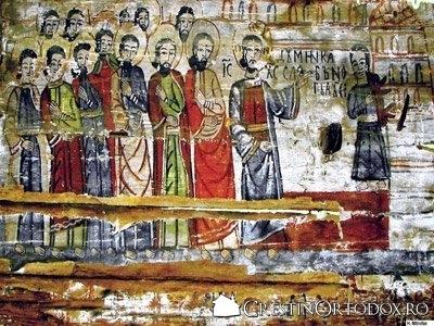 Biserica de lemn din Runcu Salvei - Vindecarea slabanogului