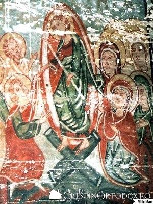 Biserica de lemn din Ungureni - Pogorarea lui Iisus la Iad