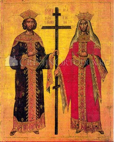 Acatistul Sfintilor Imparati Constantin si Elena
