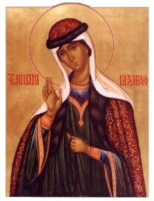 Acatistul Sfintei Iuliana din Lazarevo