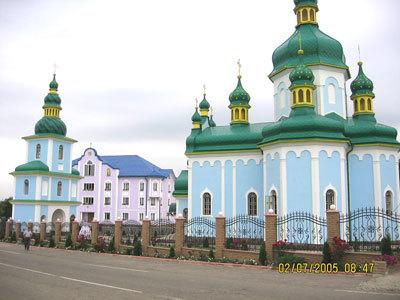 Manastirea Banceni - Ucraina