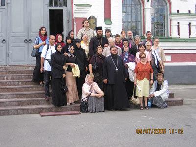 Manastirea Florovski, Manastirea Teofania