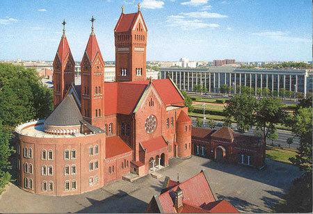 Biserica Rosie din Minsk