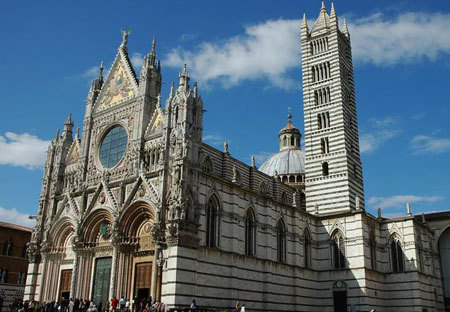 Catedrala Sfanta Maria - Domul din Siena