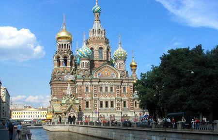 Biserica Invierii din Sankt Petersburg