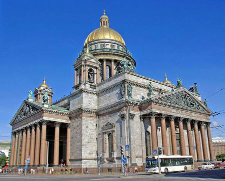 Catedrala Sfantul Isaac din Sankt Petersbourg