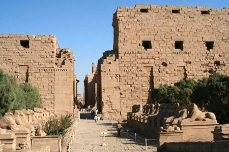Templul lui Amon Ra din Karnak