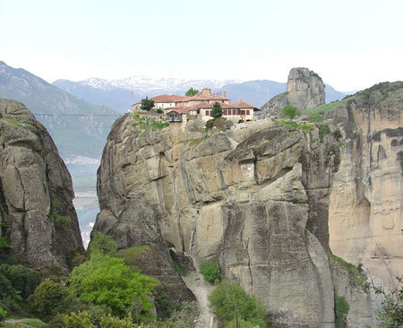 Meteora - Manastirea Sfanta Treime