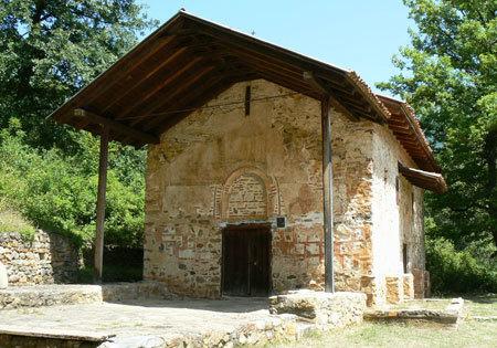 Biserica Sfantul Gheorghe - Kurbinovo